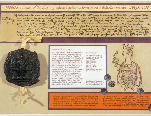 10539-2 Poster, 700th Anniversary Market Charter 1300s2(1)